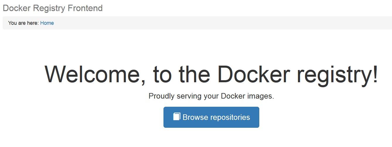 how to create registry in docker