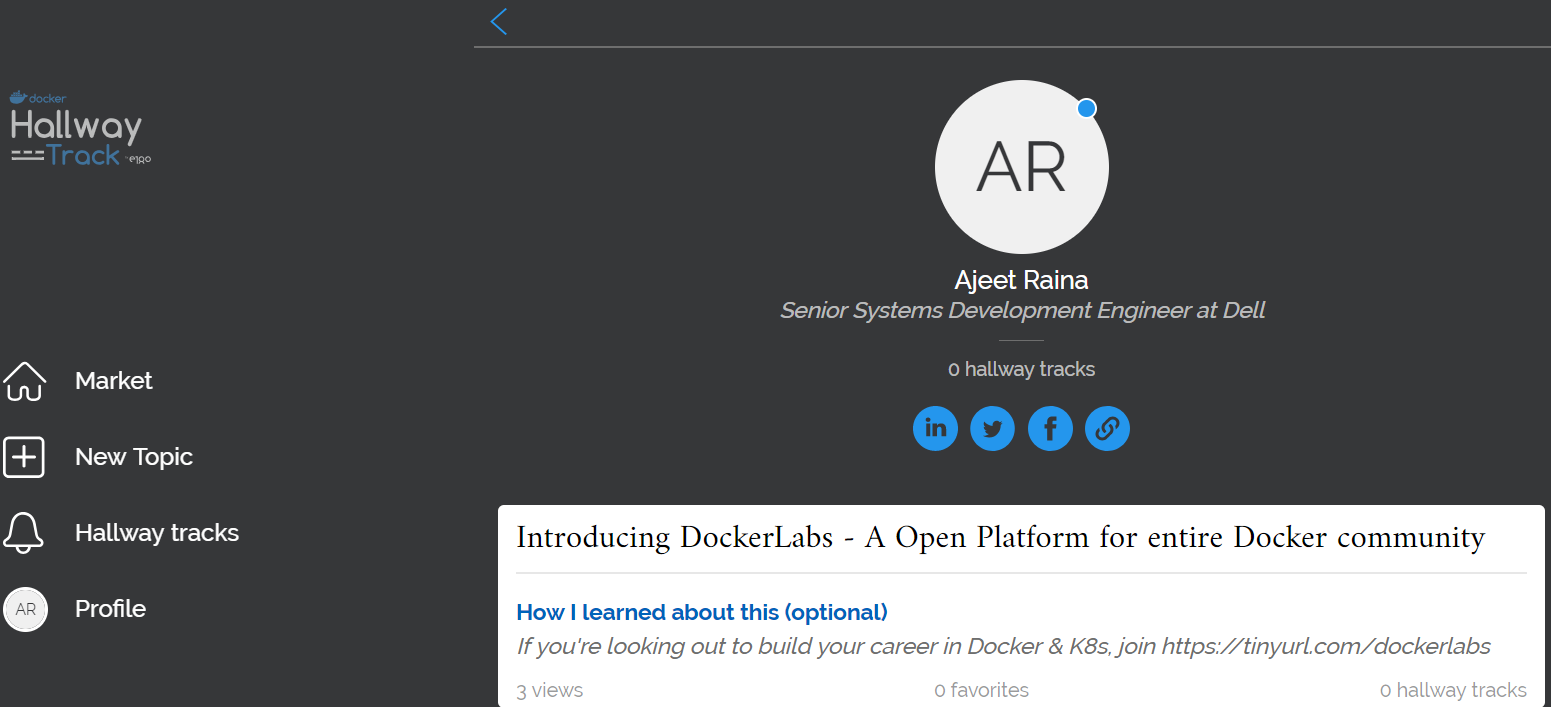 Collabnix Docker Kubernetes Cloud Seminar On Basic Electricalengineeringtee201topicparallel Did You Know That Can Even Enroll Yourself For Hallway Track Right Away Before Dockercon If Interested Head Over To Https Hallwaytrackdockerconcom