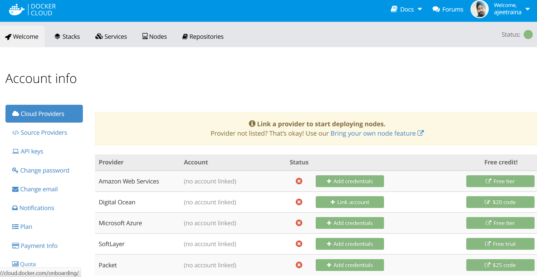 Docker for AWS – Collabnix
