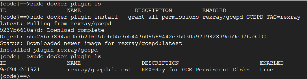 rexray_plugininstallation