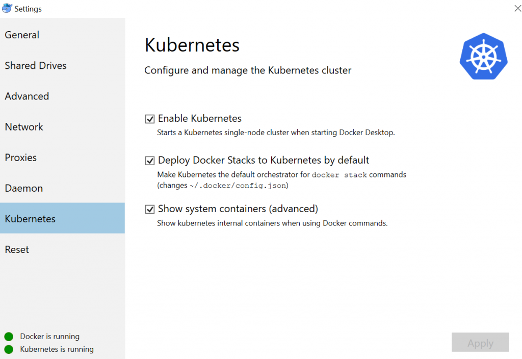 5 Minutes to Kubernetes Dashboard running on Docker Desktop for